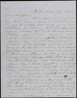 O, Marcy to John Johnston, December 1850