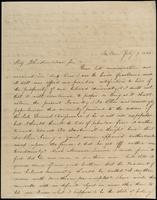 E.E.E. Bragdon to John Johnston, July 9, 1844