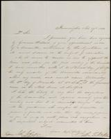 John T. Norton to John Johnston, November 27, 1844