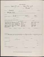 World War I service record for Clarence Everett Bacon, p. 2