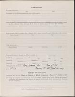 World War I service record for Clarence Everett Bacon, p. 3