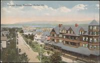 Cottage Street, Northeast Harbor, Me.