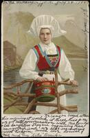 [Woman in traditional dress]