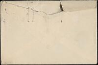Envelope addressed to Mrs. Charles W. Atwater (back)