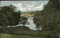 The Lake Showing Bridge, Blenheim Palace