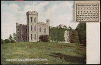 Haverhill, Mass., postcard book. Winnikenie Castle, Birthplace of John Greenleaf Whittier, and Newburyport, Old Chain Bridge