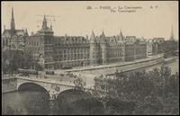 226. Paris. La Conciergerie. The Conciergerie. A.P.