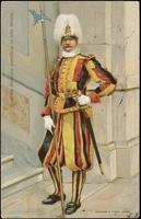 Guardia Svizzera pontificia in alta tenuta