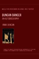 Duncan Dancer, an Autobiography