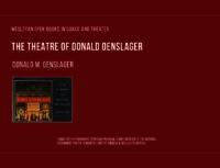 The Theatre of Donald Oenslager
