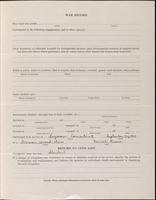 World War I Service Record for Arthur Prudden Coleman, p. 11