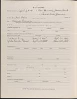 World War I Service Record for Arthur Prudden Coleman, p. 2