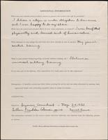 World War I Service Record for Arthur Prudden Coleman, p. 12