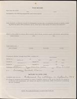 World War I Service Record for Arthur Prudden Coleman, p. 7