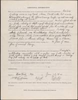 World War I service record for William David Anderson, p. 4