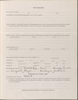 World War I Service Record for Frederick Morgan Davenport Jr., p. 3