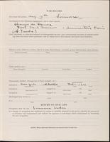 World War I Service Record for Arthur Kent Dearborn, p. 3