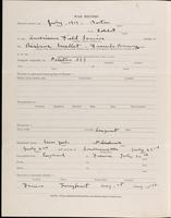 World War I Service Record for Arthur Kent Dearborn, p. 2