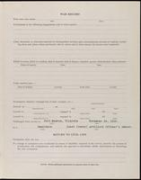 World War I Service Record for Frederick Arthur Elsey, p. 3