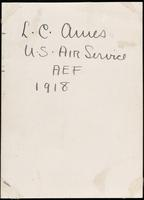 World War I service record for Lawrence Coffin Ames, p. 6