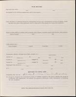 World War I Service Record for Alfred Dodd, p. 3