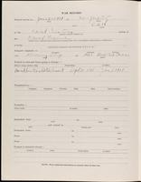 World War I Service Record for Alfred Dodd, p. 2