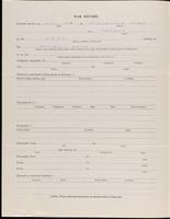 World War I service record for Oliver Harold Andrews, p. 2