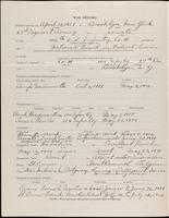 World War I service record for Samuel Spofford Ackerly, p. 2
