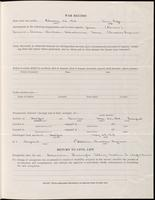 World War I Service Record for Albert Knowles Dickinson, p. 3