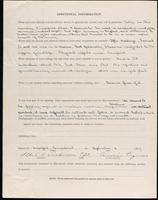 World War I Service Record for Albert Knowles Dickinson, p. 4
