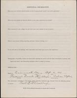 World War I Service Record for Frederick Lincoln Flinchbaugh, p. 4
