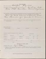 World War I Service Record for Albert Urmy Faulkner, p. 3