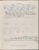 World War I service record for Wesley Owen Ash, p. 3