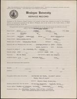 01.008.020 World War I Service Record for Jacque (Joshua) Collett Frost