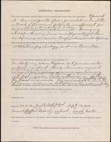 World War I service record for Samuel Spofford Ackerly, p. 4