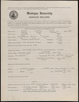 02.002.021 World War I Service Record for Winfred Byron Holton Jr.