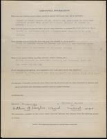 World War I Service Record for Arthur Fitzgerald Hughes, p. 4