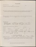 World War I Service Record for Enoch Doble Fuller, p. 3