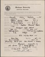 01.008.019 World War I Service Record for Harry Nichols Freueli