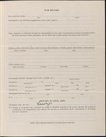 World War I Service Record for Harry Nichols Freueli, p. 3