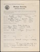 01.001.027  World War I service record for James Mason Austin