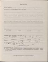 World War I Service Record for Frank William George, p. 3