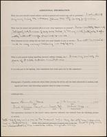 World War I Service Record for Frank William George, p. 4