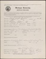 01.001.028  World War I service record for Robert Vaughn Austin