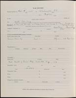 World War I Service Record for Arthur Frederick Goodrich, p. 2