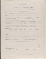 World War I service record for Paul Livingston Avery, p. 2