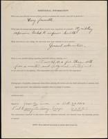 World War I service record for Paul Livingston Avery, p. 4