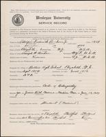 01.002.015 World War I service record for Adolph Frederick Becker Jr.
