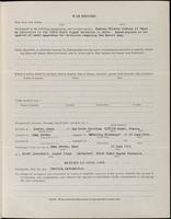 World War I Service Record for Frank Mapes Ham, p. 3