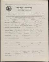 02.002.024 World War I Service Record for Samuel Prentice Hopley